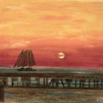 Key West sunset 17X23