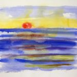 Soleil de Gaspésie 22X25
