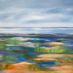 Métis sur marée basse 24X36