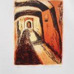 Passage - lithographie - 15X11 po